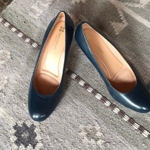 "dec456ee5538 Naturalizer Shoes - Naturalizer ""michelle"" Leather upper pumps Blue"